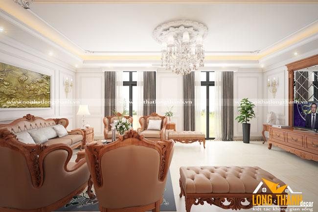 Dự án thiết kế thi công phòng khách, bếp nhà chị Mỹ - Shop House Vinhome Cần Thơ