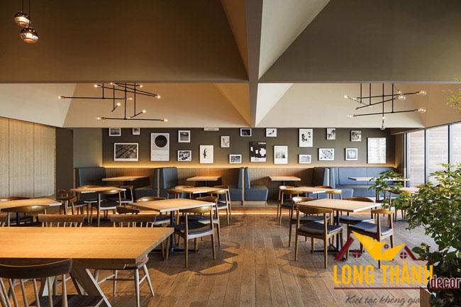 Dự án Thiết kế và thi công nhà hàng Nhật Bản