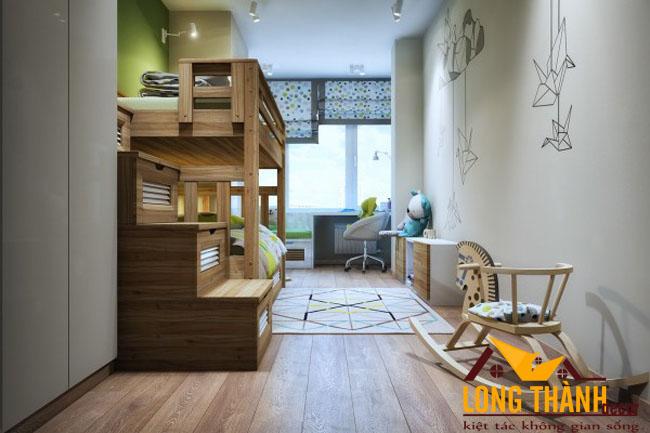 Giường ngủ tầng dành cho bé