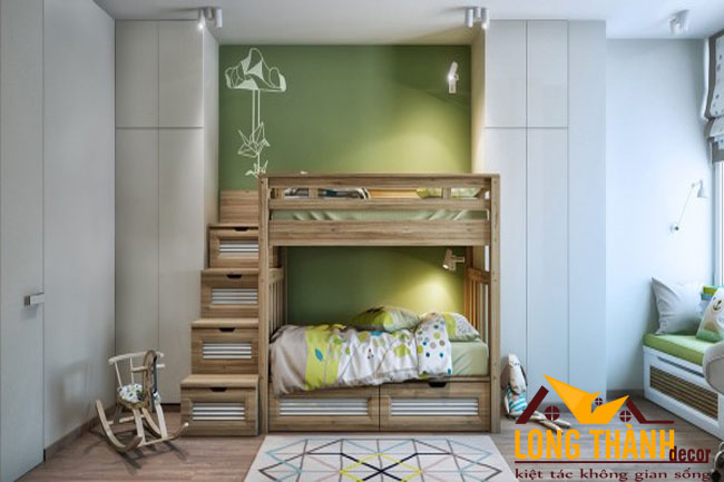 Giường tầng dành cho bé