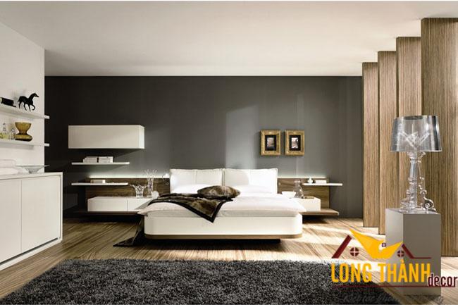 Thiết kế nội thất chung cư bằng gỗ Acrylic năm 2016