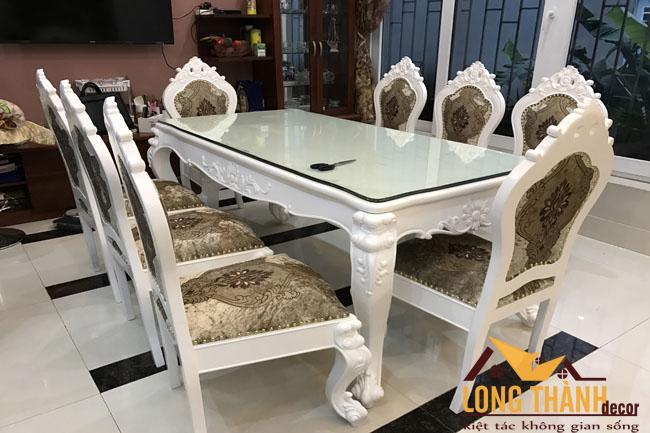 Hình ảnh thực tế phòng ngủ, phòng ăn nhà chị Thùy Bắc Giang