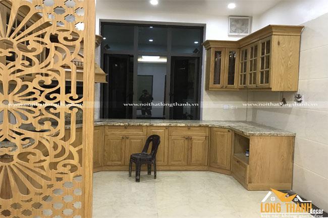 Hình ảnh thực tế thi công công trình nội thất nhà anh Nam – Nam Định
