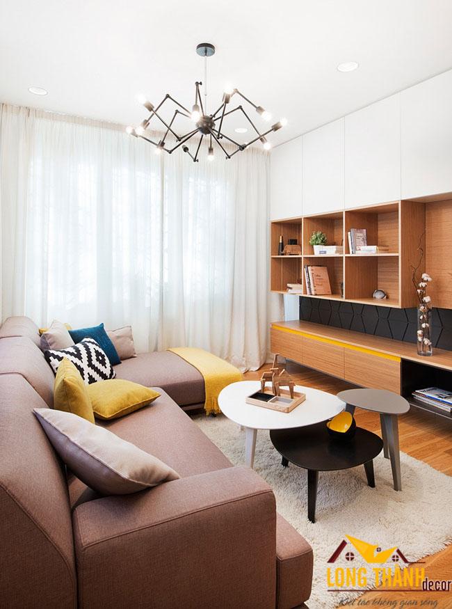 Không gian lưu trữ trong phòng khách hiện đại 2017– Giải pháp cho những căn hộ diện tích nhỏ