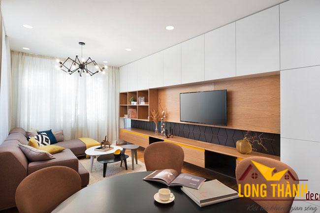 Không gian lưu trữ trong phòng khách hiện đại – Giải pháp cho những căn hộ diện tích nhỏ