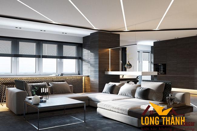 Lạ mắt với thiết kế nội thất phòng khách hiện đại