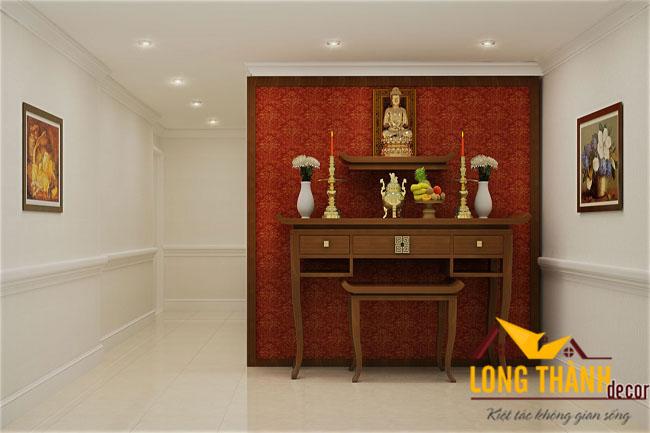 Mẫu  bàn thờ đẹp cho nhà chung cư năm 2016