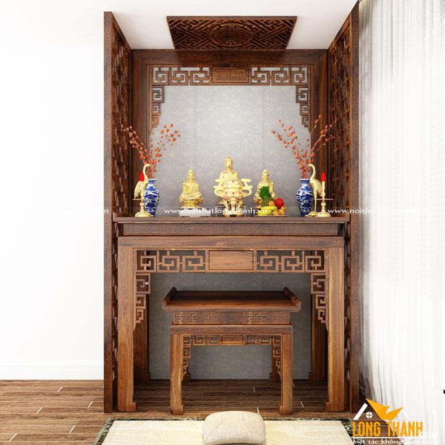 Dự án thiết kế, thi công không gian thờ cúng cho gia đình cô Loan – Chung cư Mulberry, Mỗ Lao, Hà Đông