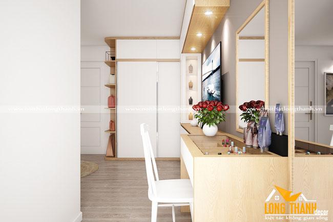 Mẫu phòng ngủ hiện đại cho nhà chung cư hẹp
