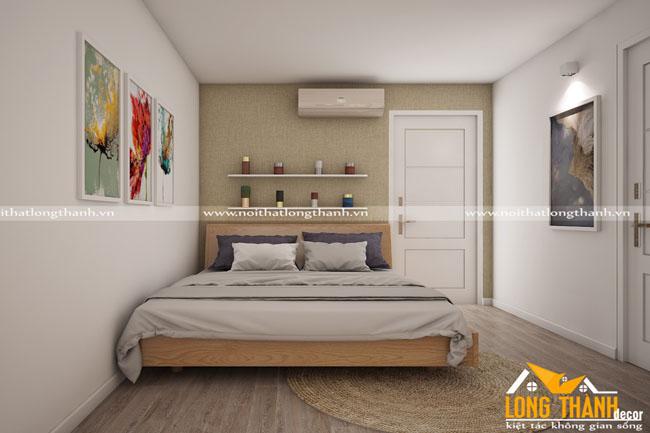 Mẫu phòng ngủ cho nhà chung cư hẹp