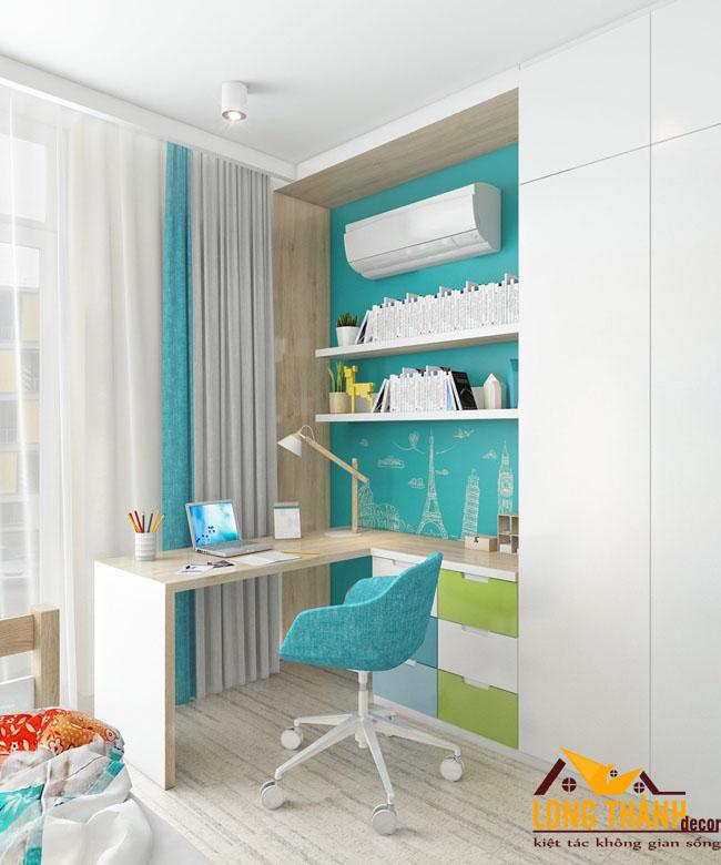 Mẫu phòng ngủ hiện đại dành cho các bé