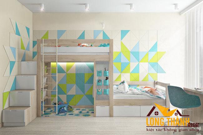 Mẫu phòng ngủ dành cho các bé