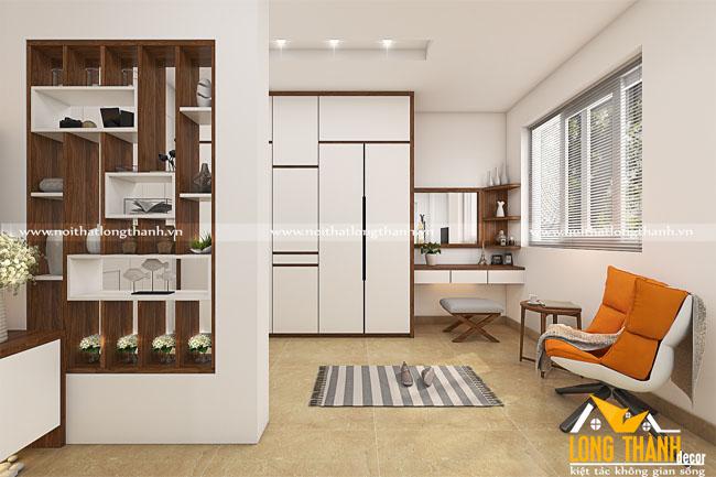 Mẫu thiết kế phòng ngủ hiện đại dành cho nhà biệt thự