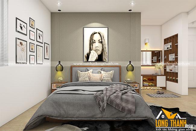 Mẫu phòng ngủ hiện đại nhà biệt thự