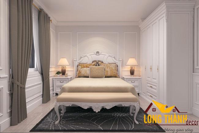 Mẫu phòng ngủ tân cổ điển cao cấp 2016