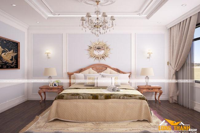 Mẫu phòng ngủ tân cổ điển gây sự chú ý trong năm 2017
