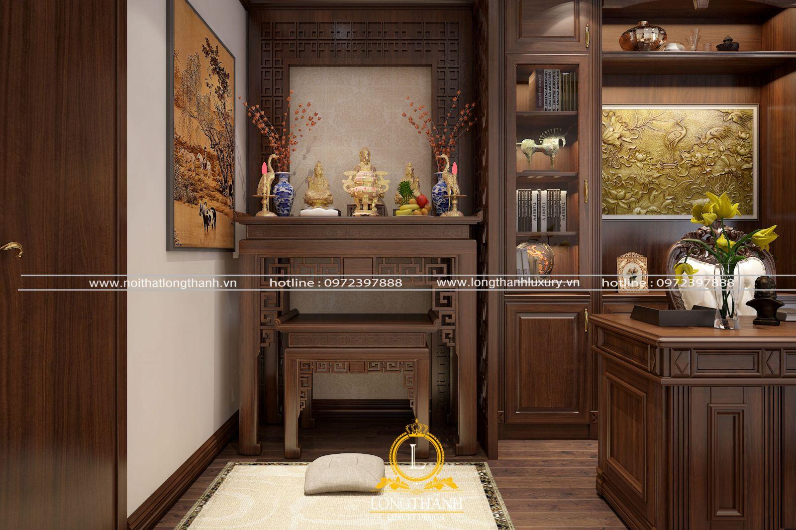 Một số lưu ý khi thiết kế và trang trí bàn thờ cho nhà chung cư