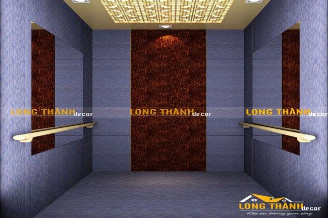 Mẫu thiết kế nội thất cầu thang máy hiện đại cho biệt Thự Vinhome Sài Đồng