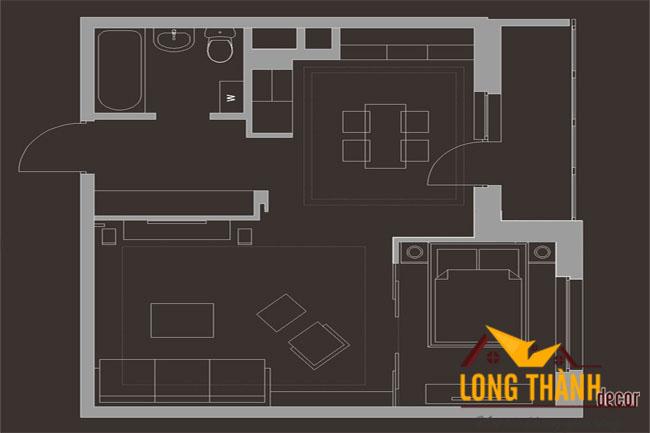 Mẫu thiết kế nội thất chung cư có diện tích nhỏ