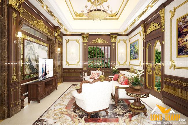 Mẫu thiết kế nội thất cổ điển cho nhà biệt thự