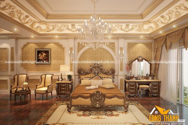 Mẫu thiết kế phòng ngủ cổ điển đẹp cho năm 2018