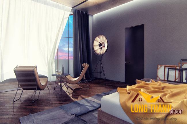 Mẫu thiết kế phòng ngủ cao cấp đẹp dành cho vợ chồng trẻ