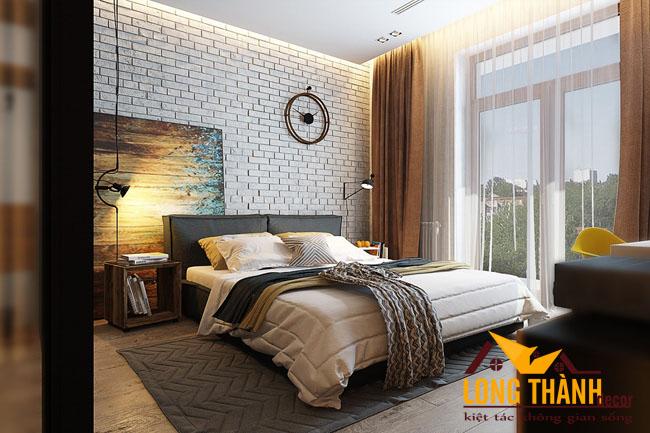 Mẫu thiết kế phòng ngủ hiện đại dành cho vợ chồng trẻ