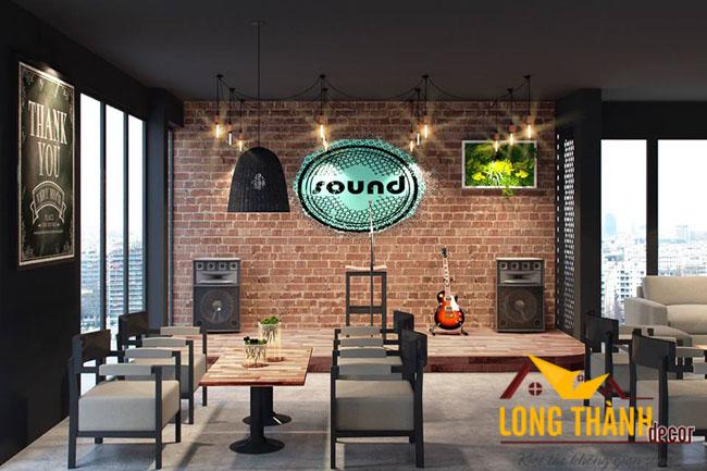 Mẫu thiết kế nhà hàng, quán cafe phong cách nhất Nội Thất Long Thành
