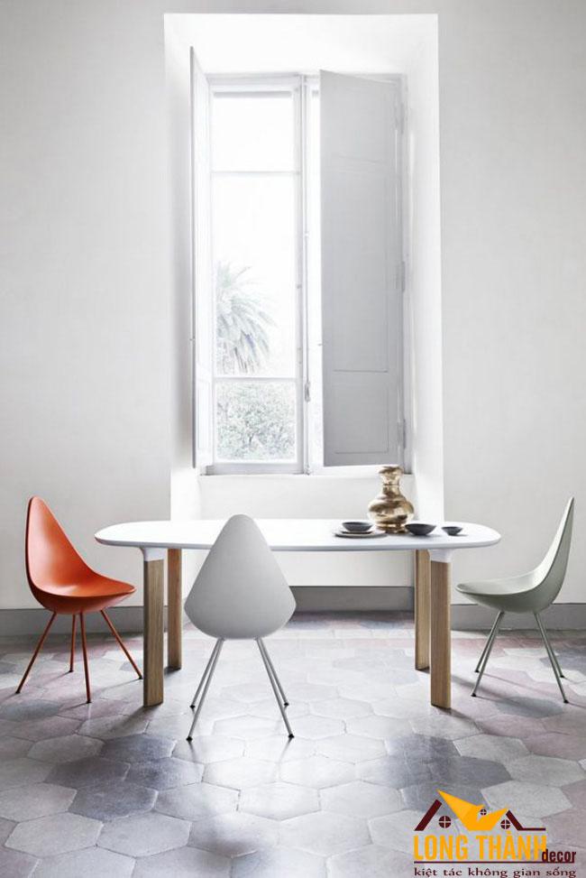 Những mẫu bàn ăn nhỏ gọn dành cho các không gian nhỏ