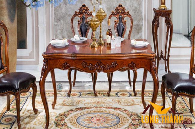 Những mẫu bàn ăn tân cổ điển đẹp