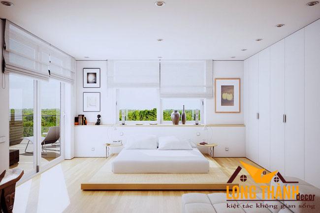 Những mẫu phòng ngủ hiện đại dành cho những căn phòng đầy nắng