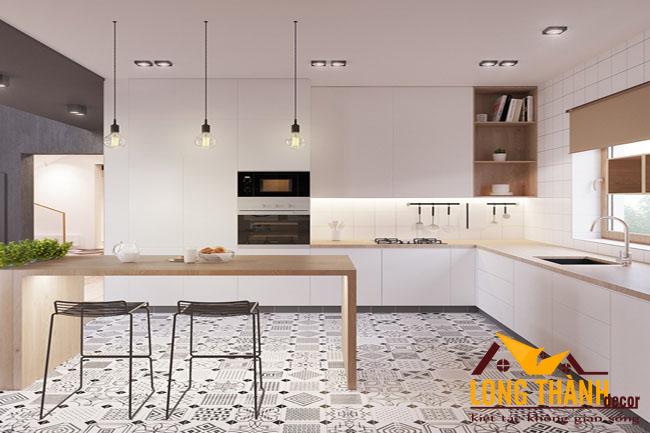 Những mẫu thiết kế nội thất phòng bếp kết hợp ăn dành riêng cho nhà chung cư