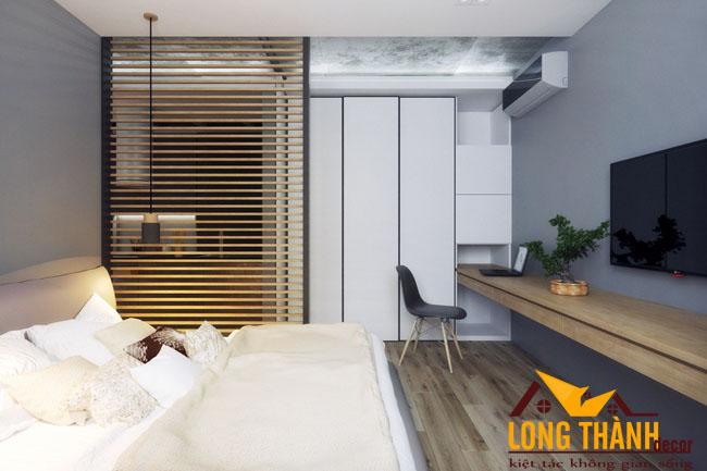 Thiết kế nội thất căn hộ chung cư mini dành cho người độc thân hoặc vợ chồng trẻ