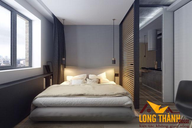 Nội thất căn hộ chung cư mini dành cho người độc thân hoặc vợ chồng trẻ
