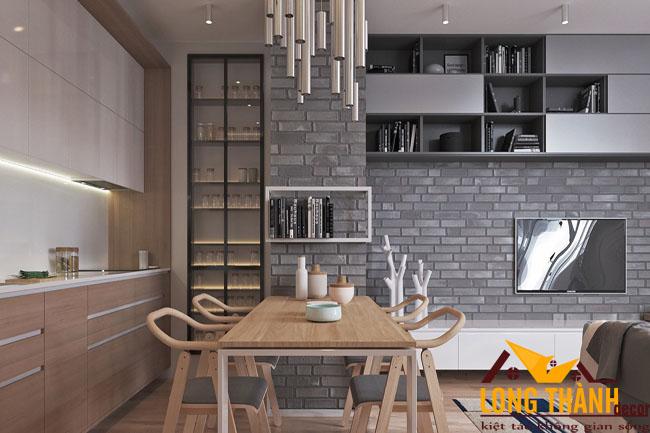 Thiết kế nội thất chung cư nhỏ gọn, thông minh, tiện ích