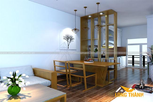 Thiết kế Nội thất chung cư với không gian hẹp ngang