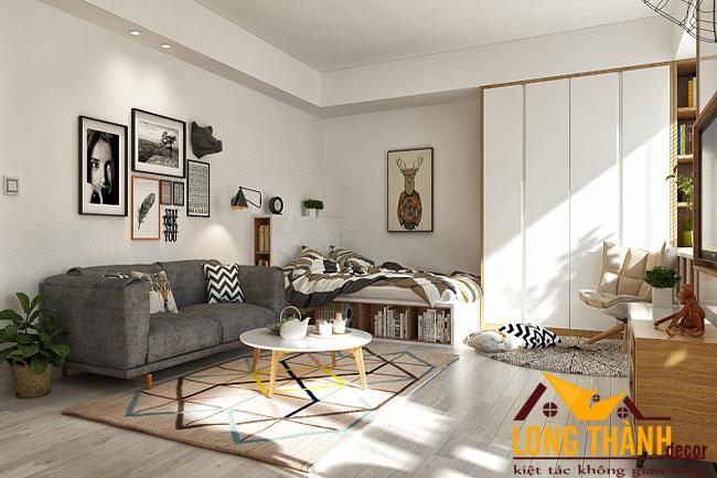 Mẫu thiết kế nội thất nhà chung cư hiện đại năm 2017