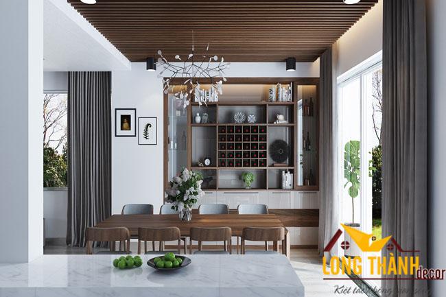 Nội thất phòng bếp hết hợp phòng ăn – Xu hướng thiết kế nội thất phòng bếp cho nhà chung cư hiện nay