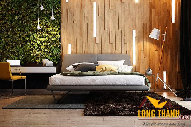 Nội thất phòng ngủ cao cấp sử dụng chất liệu laminate