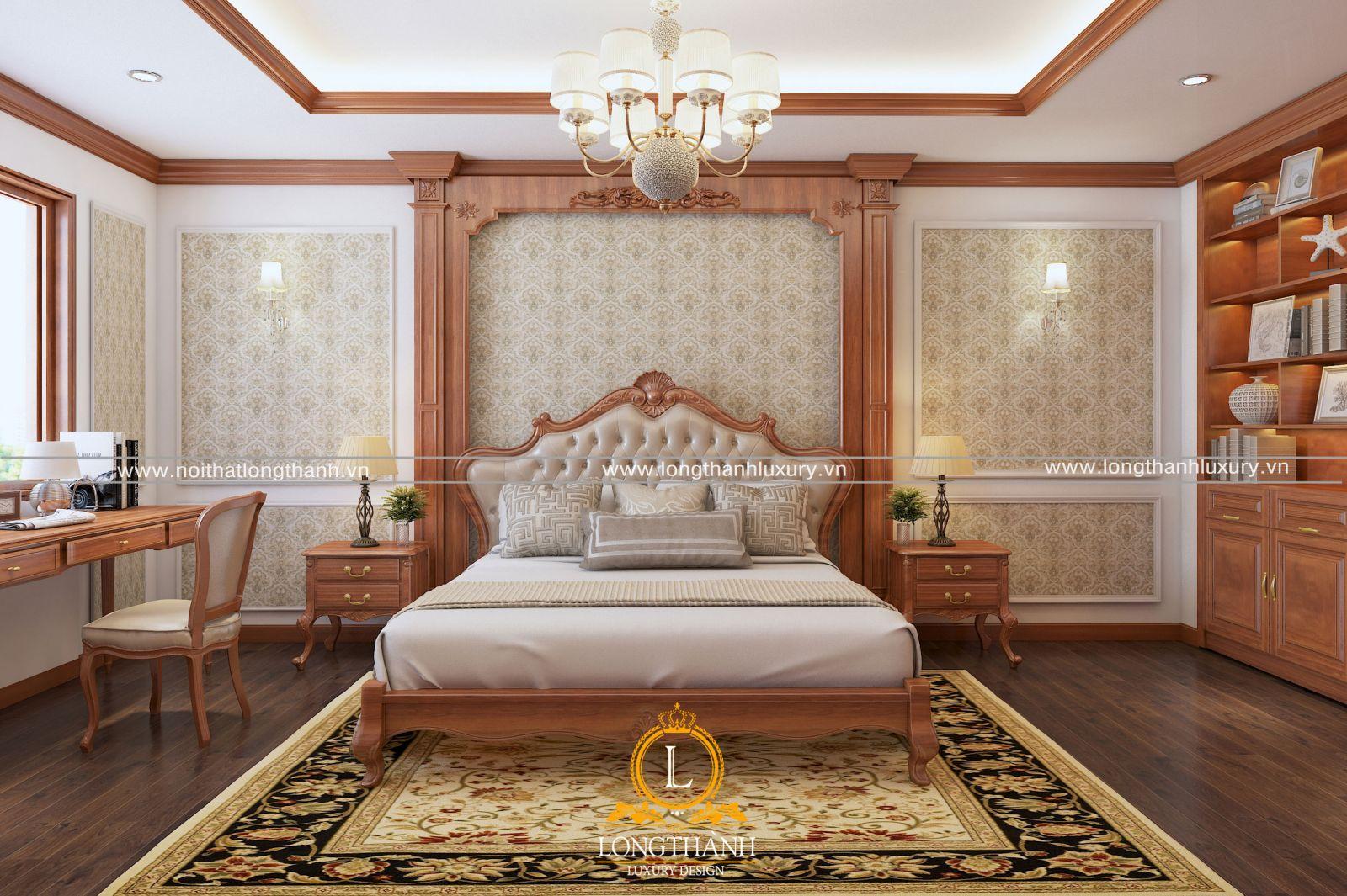 màu sắc trong thiết kế nội thất phòng ngủ master