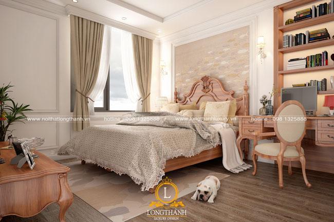 Nội thất phòng ngủ tân cổ điển Long Thành – chăm lo cho bạn ngay cả khi bạn đang say giấc