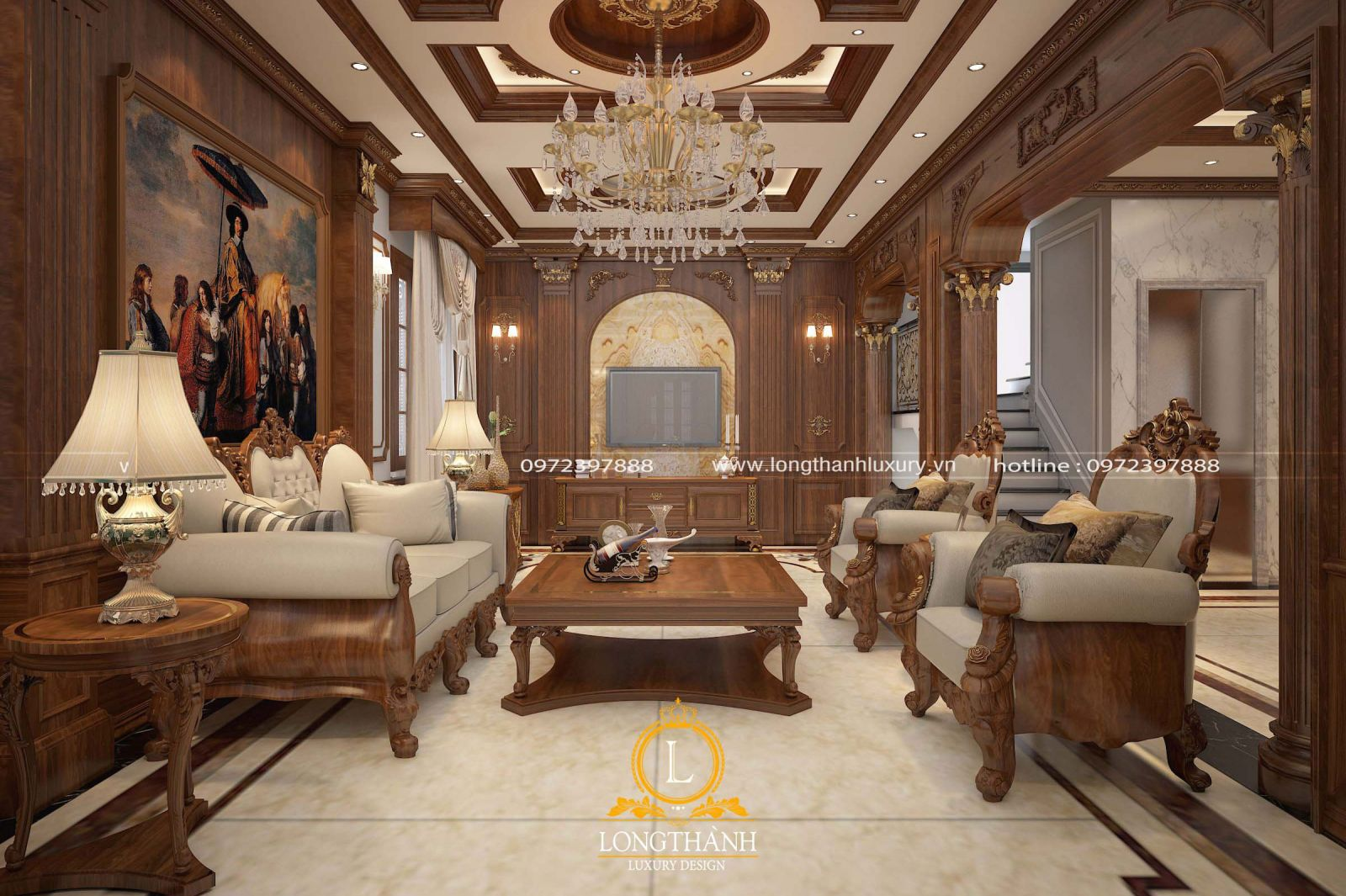 Một số vấn đề cần lưu ý khi thiết kế nội thất cho nhà biệt thự hiện nay
