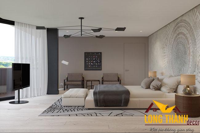 Phong cách cùng nội thất phòng ngủ hiện đại cao cấp