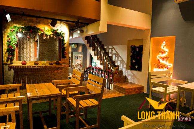 Phong cách thiết kế nội thất quán cafe đẹp năm 2016