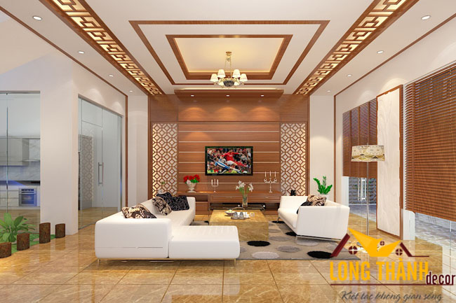 Phòng khách biệt thự đẹp LT01