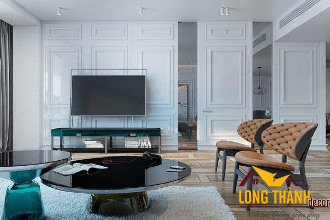 Phòng khách biệt thự đẹp LT04