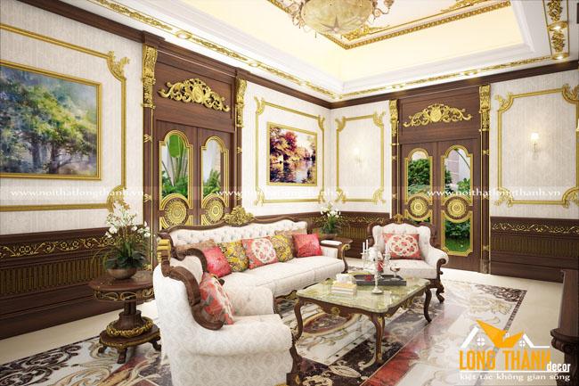 Phòng khách biệt thự đẹp LT15