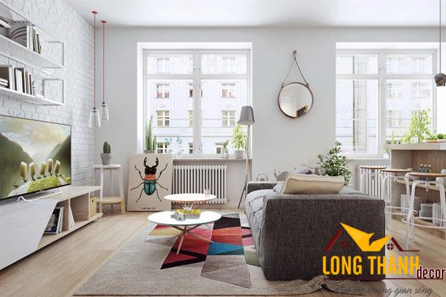 Phòng khách hiện đại cho những gia đình có không gian phòng khách nhỏ hẹp