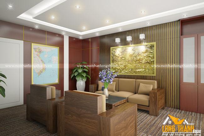 Phòng khách hiện đại dành cho khối văn phòng