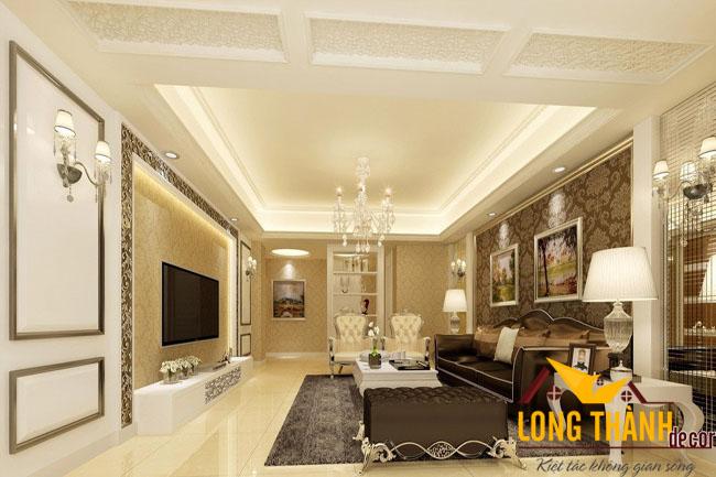 Phòng khách tân cổ điển LT07